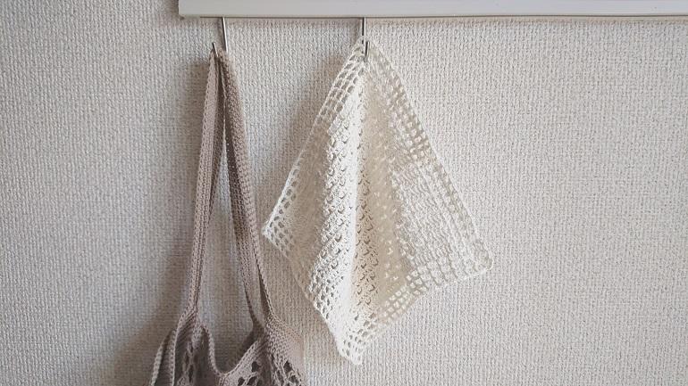 ピコット編みのハンカチ2
